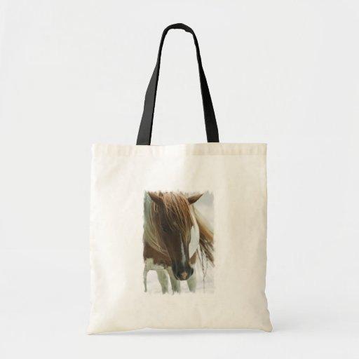 Mustang Wild Horse Tote Bag