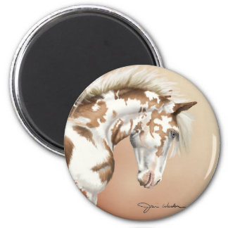 Mustang Wild Xtend 2 Inch Round Magnet
