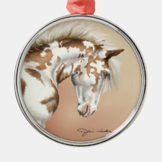 Mustang Wild Xtend Metal Ornament