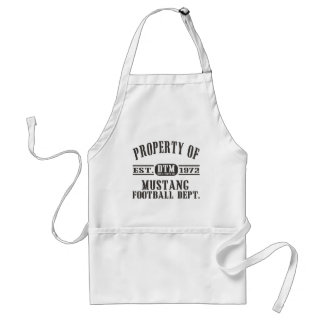 Mustang Wresting Adult Apron