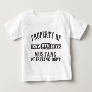 Mustang Wresting! Baby T-Shirt