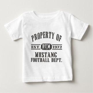 Mustang Wresting Baby T-Shirt