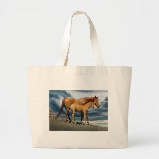 MustangMare Large Tote Bag
