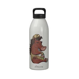 Mustango de la marina de guerra botellas de agua reutilizables