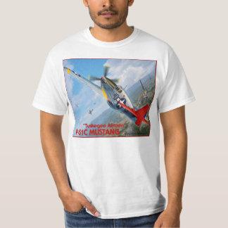 Mustango de los aviadores P-51 de Tuskegee Playera