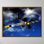 Mustango de P 51 Poster