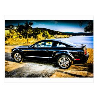 Mustango negro GT Postal