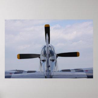 Mustango P51 listo para el vuelo Impresiones