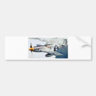 MUSTANGO P-51 PEGATINA DE PARACHOQUE