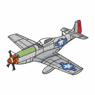 Mustango P-51 Sudadera Bordada