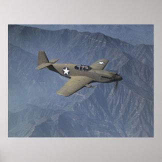 Mustango P-51 Posters