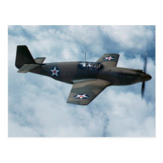 Mustango P-51 Postales