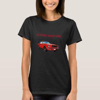 Mustango rojo playera