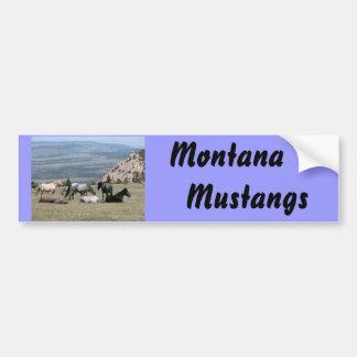Mustangos Pegatina De Parachoque