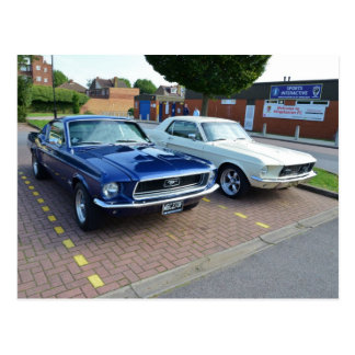 Mustangos clásicos de Ford Tarjetas Postales