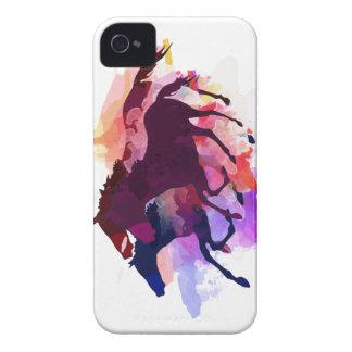 Mustangos - el manojo salvaje Case-Mate iPhone 4 cobertura