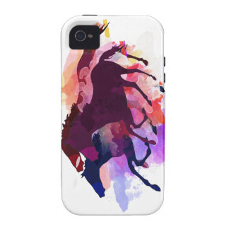 Mustangos - el manojo salvaje iPhone 4 carcasas