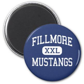 Mustangos Fillmore medio Utah de Fillmore Imanes De Nevera