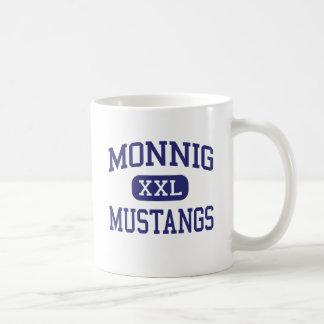 Mustangos Fort Worth medio Tejas de Monnig Tazas