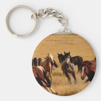 Mustangos Llavero Redondo Tipo Pin