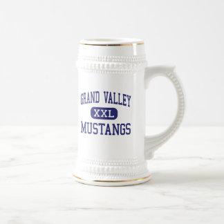 Mustangos magníficos Orwell medio Ohio del valle Jarra De Cerveza