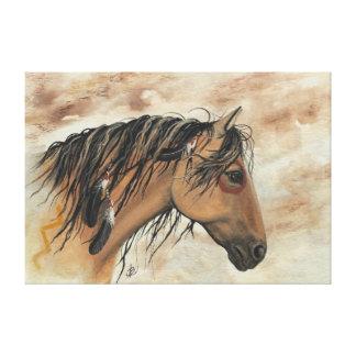 Mustangos majestuosos por la impresión de la lona  impresión en lienzo estirada