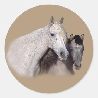 Mustangos Sally y pegatina de Wilson