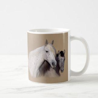Mustangos Sally y taza de Wilson