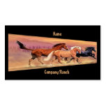Mustangs Double-Sided Standard Business Cards (Pack Of 100)