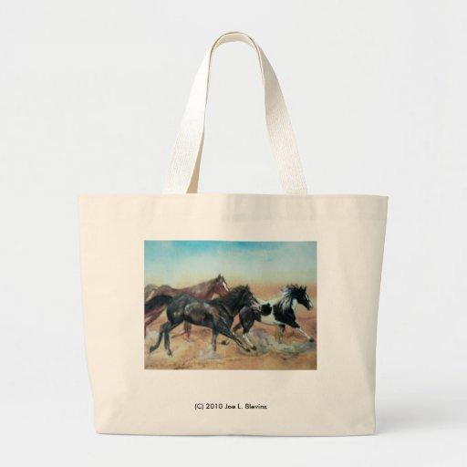 Mustangs Canvas Bag