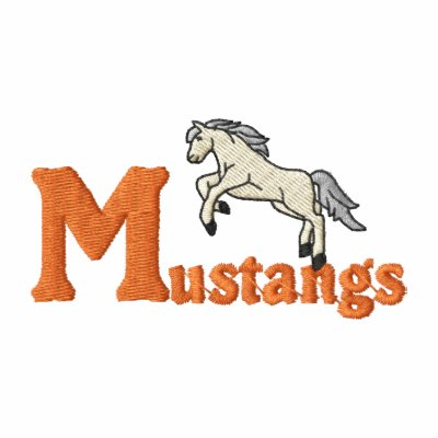Mustangs Embroidered Shirts