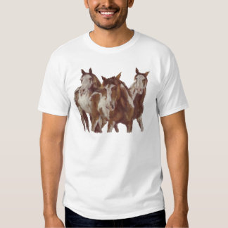 Mustangs - Galloping Horses Tees
