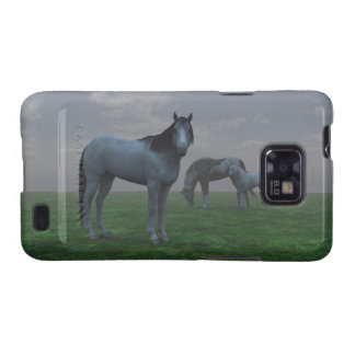 Mustangs In Fog for Galaxy S Case Galaxy SII Cases