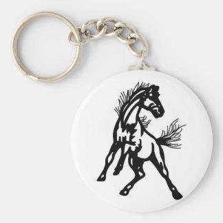 Mustangs Keychain