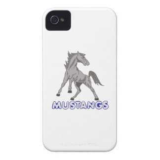 Mustangs Mascot iPhone 4 Covers
