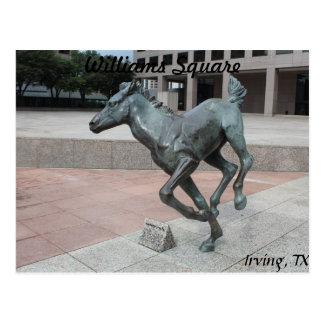 Mustangs of Las Colinas # 13 Postcard