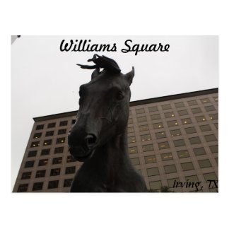 Mustangs of Las Colinas #  14 Postcard