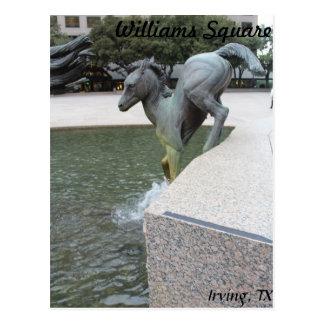 Mustangs of Las Colinas # 18 Postcard