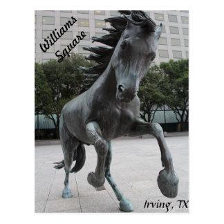 Mustangs of Las Colinas # 20 Postcard