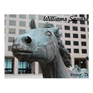 Mustangs of Las Colinas # 22 Postcard