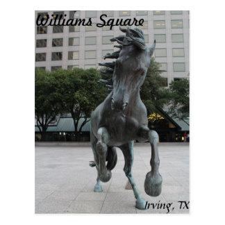 Mustangs of Las Colinas # 25 Postcard