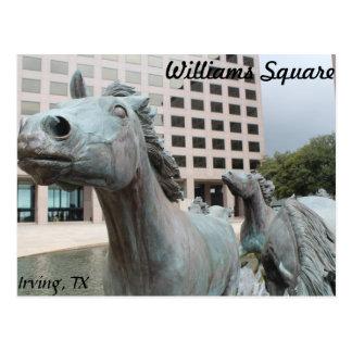 Mustangs of Las Colinas # 2 Postcard