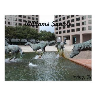 Mustangs of Las Colinas # 3 Postcard