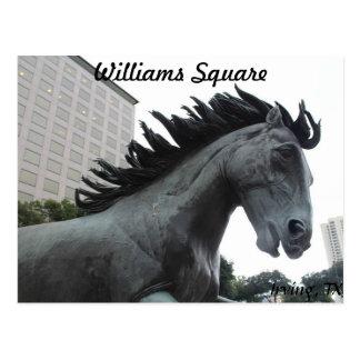 Mustangs of Las Colinas # 6 Postcard