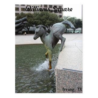 Mustangs of Las Colinas # 7 Postcard