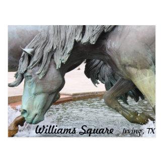Mustangs of Las Colinas # 8 Postcard