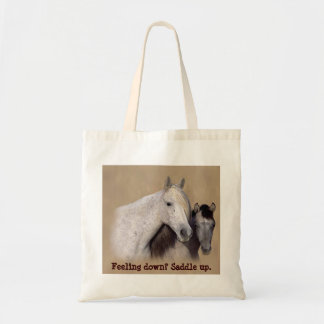 Mustangs Sally and Wilson Tote Bag