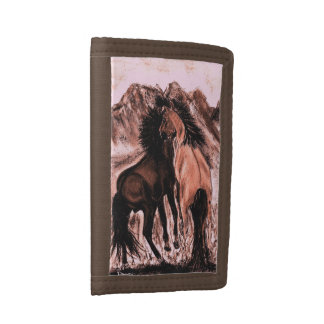 MUSTANGS TRIFOLD WALLETS