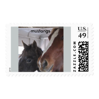Mustangs U.S.Postage Stamps
