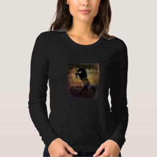MustangWILD Long sleeve women's shirt